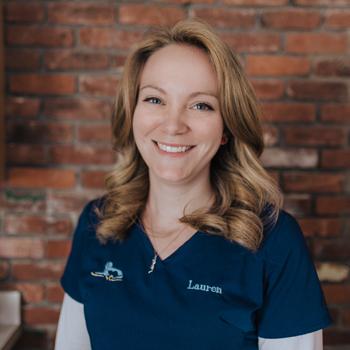 Lauren headshot, vet tech western MA, western MA animal hospital, springfield MA animal hospital